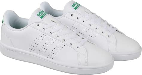 Sepatu Adidas Neo Advantag Clean 1 adidas neo cloudfoam advantage clean sneakers buy ftwwht ftwwht green color adidas neo