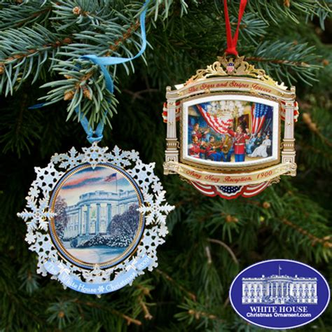 white house ornaments official 2010 white house ornament gift set