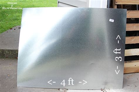 zinc sheets for table top diy zinc top table house of hawthornes