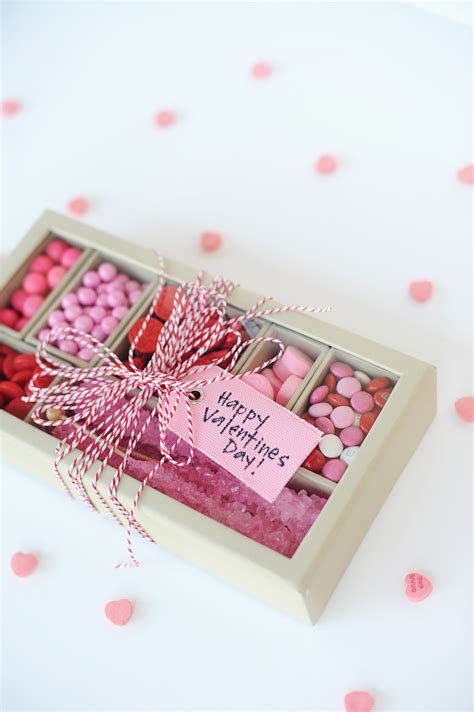 valentine gifts make this easy and cute valentine pink and red diy candy