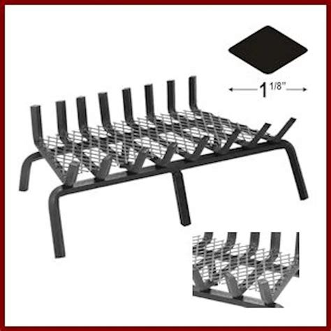 heavy duty grate with ember enhancer northshore