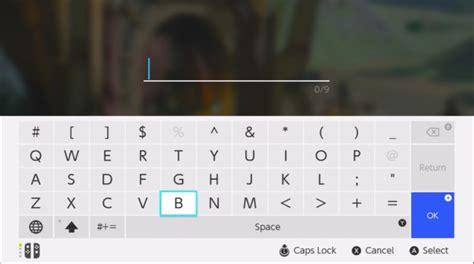 nintendo switch os  user interface