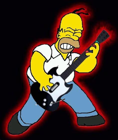 Imagenes Homero Rockero | homero simpson rockero taringa