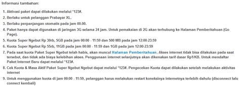 Xl Paket Ngebut 5 5gb 2 tips sederhana cara daftar paket xl