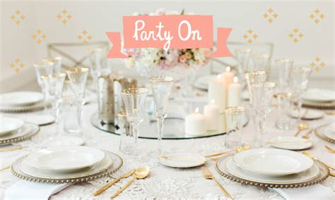 Table Linen Rental Singapore - be the hostess with the mostess with party social sassy mama