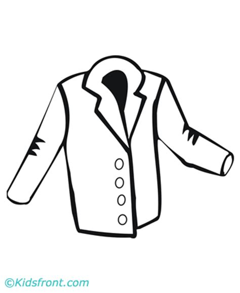 printable coloring page of a jacket free coloring pages of jacket