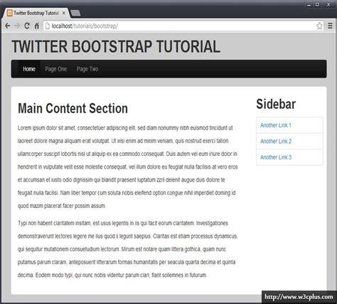 tutorial bootstrap twitter pdf 20分钟打造你的bootstrap站点 bootstrap 教程 w3cplus