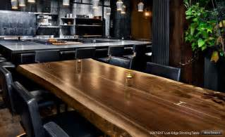 live edge slab dining live edge furniture sentient in my house pinterest