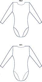 Leotard Design Template by Welcome To Carita House