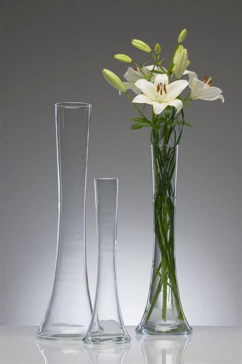 Flower Vase Floor L by Glass Vase Floor Vase Table Vase Flower Vase Quot Big Solifleur X Quot Cut 40 Cm Ebay