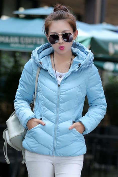 Baju Luar Wanita Hoody Jacket Blue Size L 417934 jaket hoodie wanita korea big size blue korean jacket
