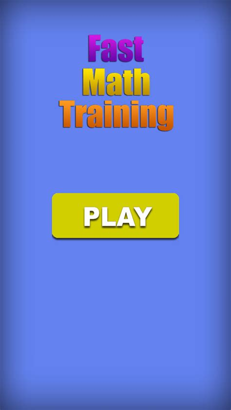 app shopper fast math training games