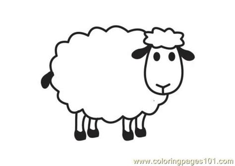 free t sheep coloring pages