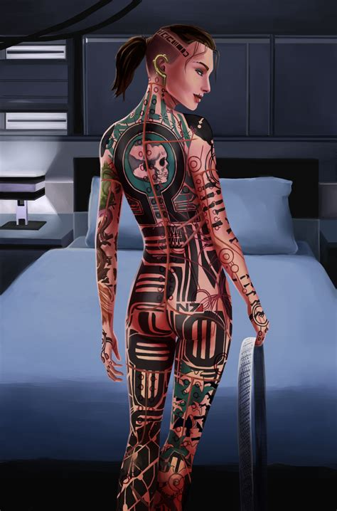 tattoo artist porn s n7 by nightfable on deviantart