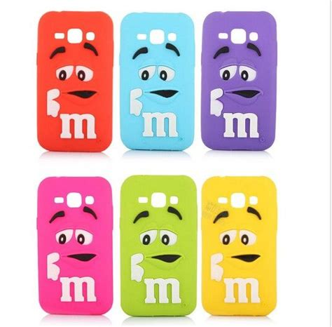 Samsung J7 Prime Soft 3d Intip Motif Karakter Free Tg J7 Prime 3d m m character chocolate colorful rainbow beans soft silicone phone cover for