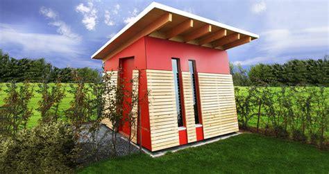 Gartenhaus Gemauert Modern