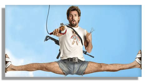 Should You Mess With Adam Sandler In The Zohan by Lot Detail Adam Sandler Worn Costume From The Comedic