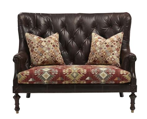 rawhide leather couch western curved leather sofa western sofas and loveseats