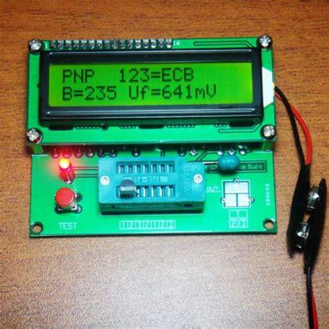 digital transistor tester capacitor esr inductance resistor lcr meter
