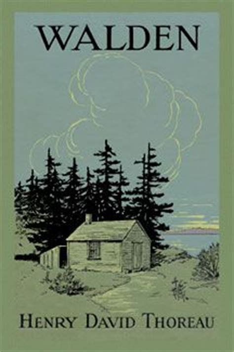 Walden Henry David Thoreau Posters And Canvas