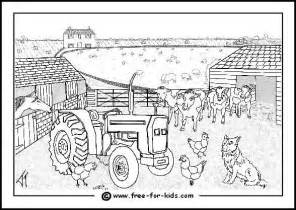 Farm Coloring Pages sketch template