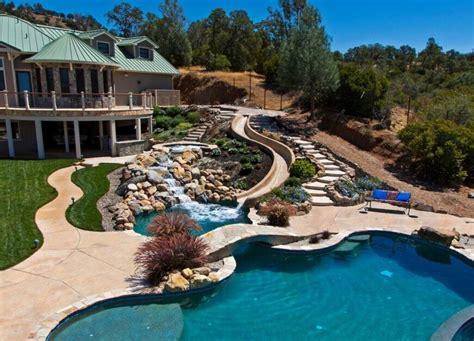 Backyard Inflatable Water Park 16 Amazing Swimming Pool Slides