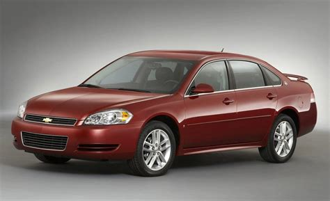 chevy impala 2008 car and driver