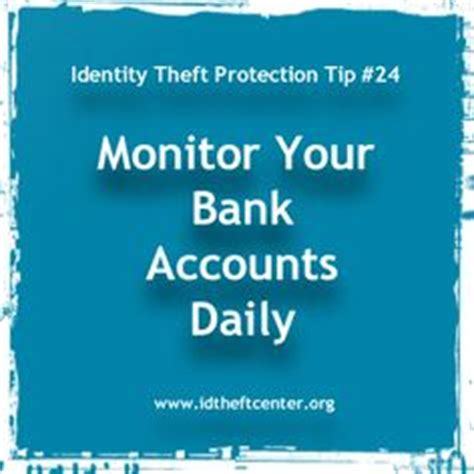 bank fraud protection identity theft protection tips on 25 pins