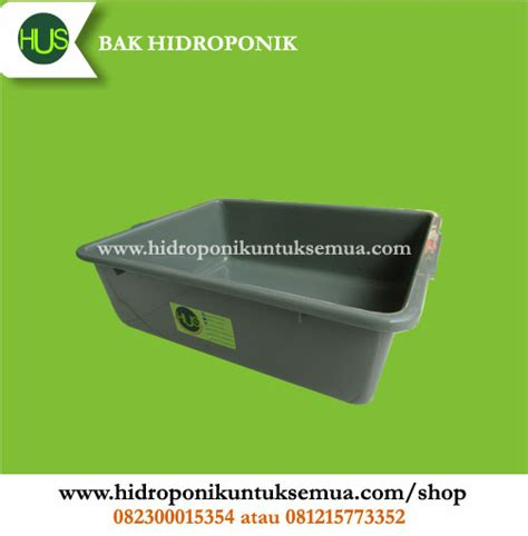 Jual Pupuk Hidroponik Bengkulu bak ember untuk sistem wick grosir jual alat bahan media