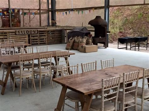 rustic table and chairs hire gallery of our products and events elite furniture hire