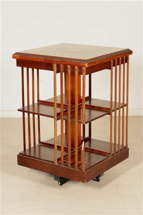 librerie girevoli libreria girevole inglese mobili in stile bottega