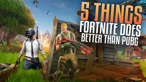 fortnite vs cod 5 things fortnite does better than pubg fortnite vs pubg