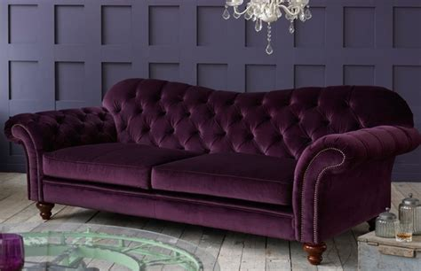 Crompton Vintage Fabric Sofa Fabric Chesterfield Sofas Chesterfield Sofas Fabric