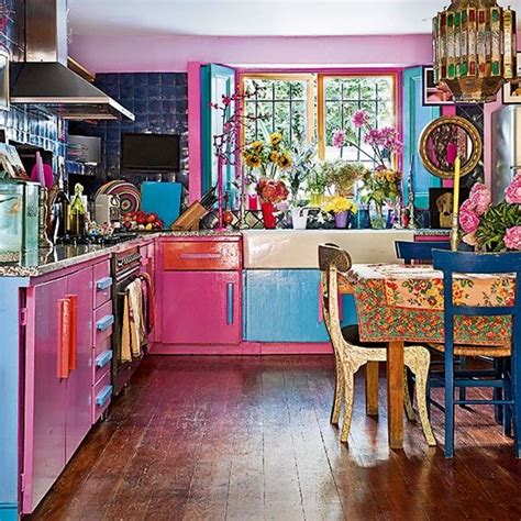 funky kitchen canisters best 25 bohemian homes ideas on green kitchen