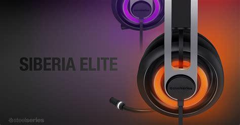 Steelseries Siberia Elite Black steelseries introduces siberia elite gaming headset custom pc review