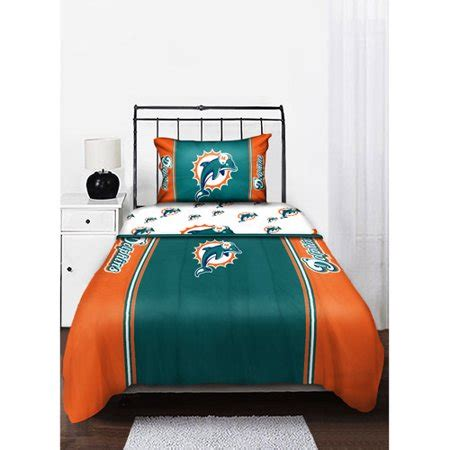 miami dolphins nfl twin chenille embroidered comforter set with 2 shams 64 x 86 nfl miami dolphins comforter miami dolphins comforter miami dolphins bedding sets