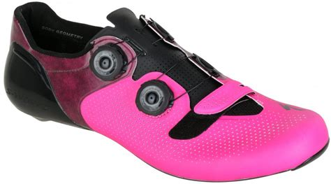 pink bike shoes specialized s works 6 shoes road bike shoes 2017
