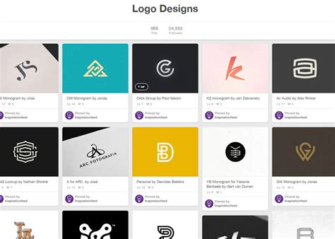 top design inspiration sites 10 best places for logo design inspiration
