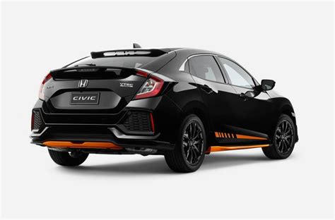 With Hatch by Honda Australia Adds Orange Edition Black Pack To Civic