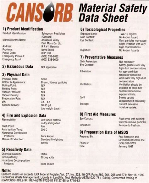 material safety data sheet 100 rtv silicone pdf