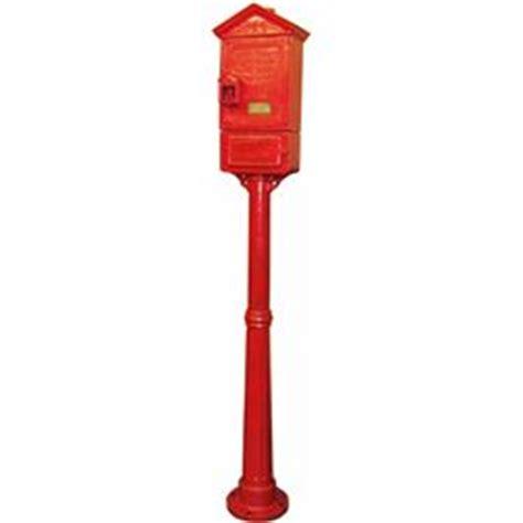Gamewell Pedestal gamewell 152 pedestal alarm box
