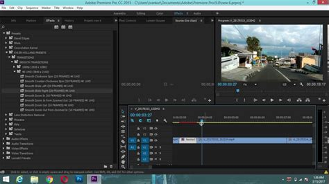adobe premiere pro zoom out tutorial transition slide zoom rotation adobe premiere pro