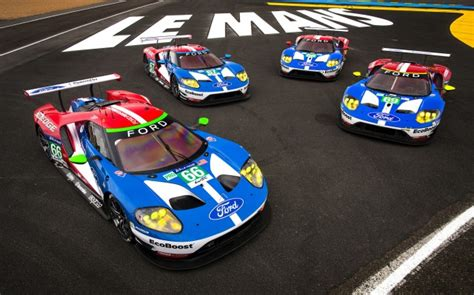 ford porsche secure pole for 2016 24 hours of le mans