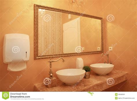 baroque bathroom accessories baroque style bathroom interior stock image image 33590591