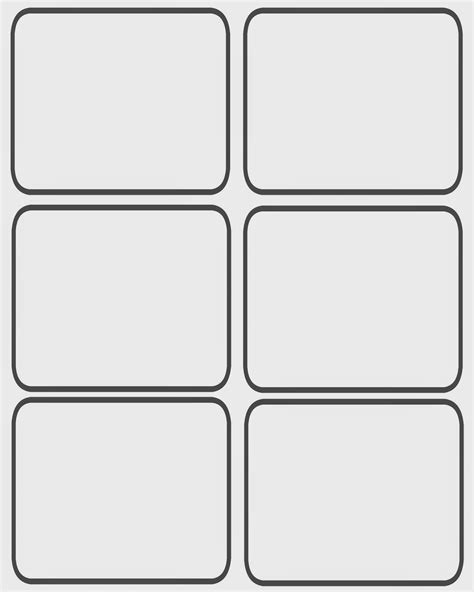 template cards blank card template 5 best professional