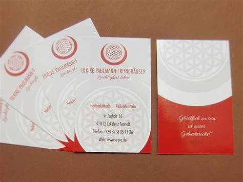 Visitenkarten Heilpraktiker by B Unique Heilpraktikerin Erkelenz Logo Design