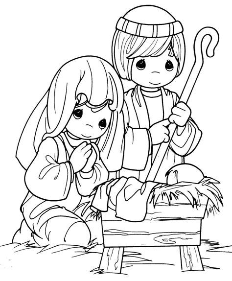 Baby Jesus Coloring Pages Coloring Pictures Of Baby Jesus In A Manger Coloring Pages by Baby Jesus Coloring Pages
