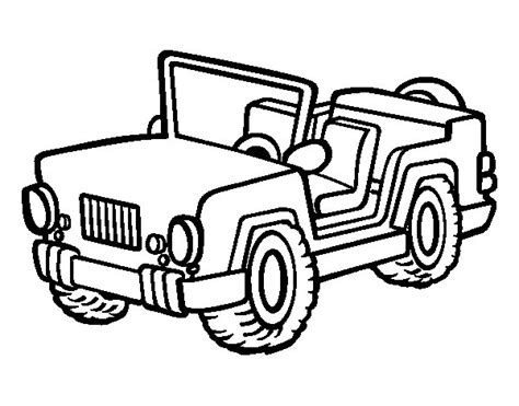 coloring pages for jeep jeep coloring page coloringcrew com