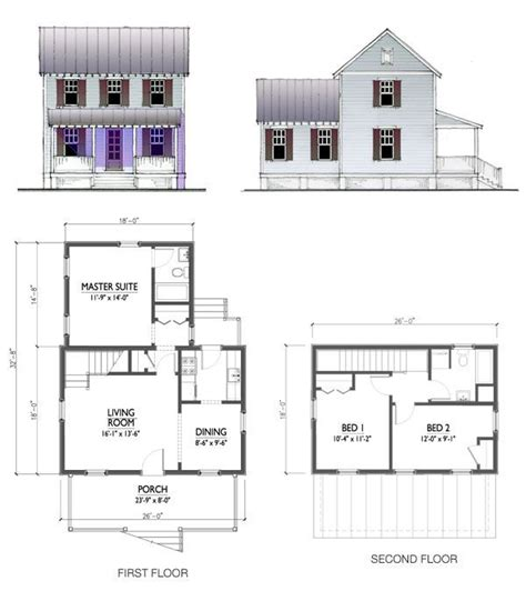this 1200 sq ft two story design features a 3 bedroom 2