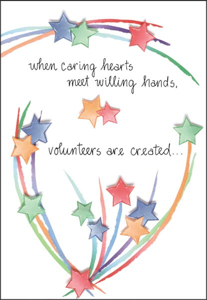 Thank You Note From To Volunteer thank your volunteers for any occasion it takes two inc